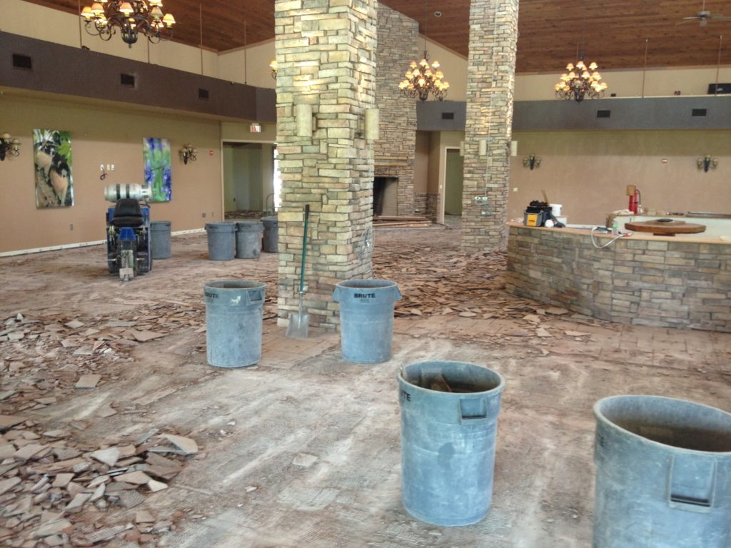 Ceramic tile removal ez out floor removal we use ride on state of the art removal equipment to remove ceramic tile and many other types of tile and thin set when we are finished the slab is dailygadgetfo Image collections