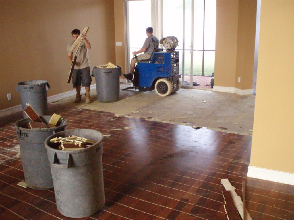 How to remove glue down wood flooring alyssamyers for Removing hardwood floors